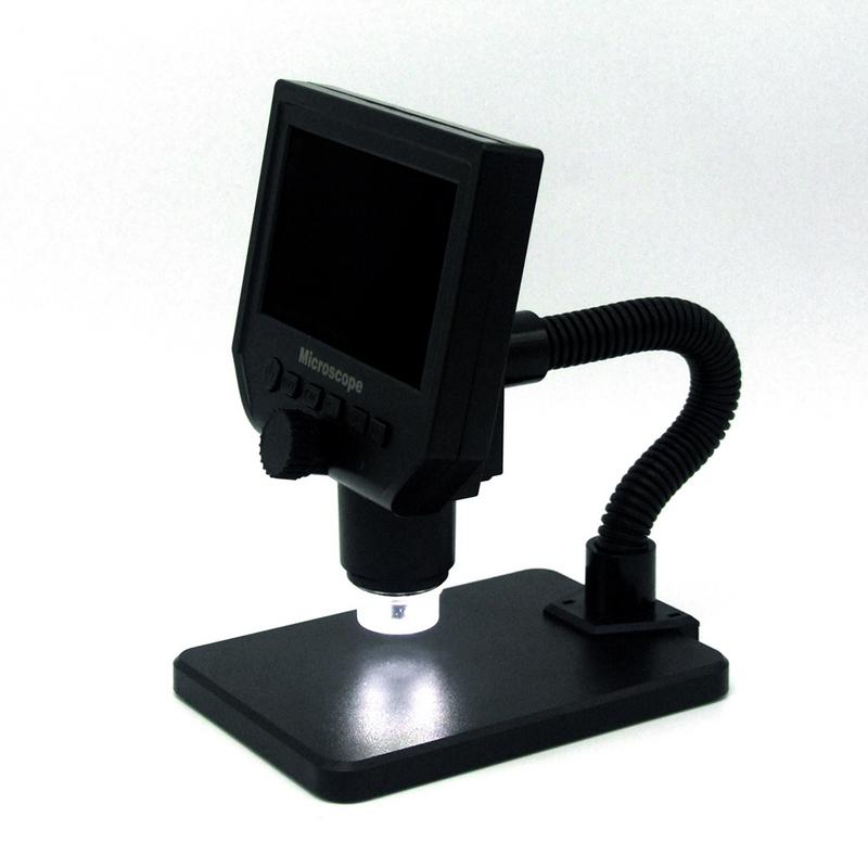600x LCD Soldering Magnification 3 6MP Digital Electronic HD Microscope Precision Repair Portable 8 LED VGA