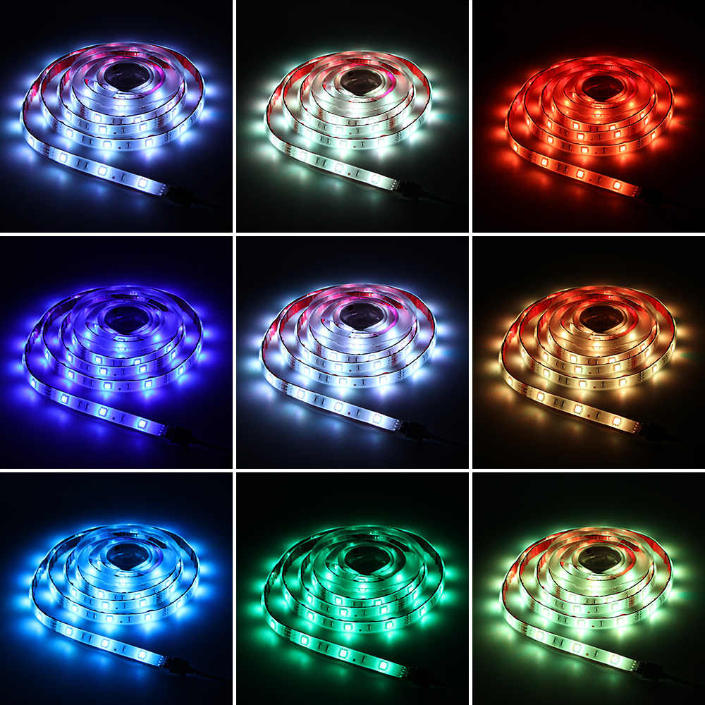 Led Light Strips Rgb Rgb Led Light Strip Wifi Controller Dc12v Smart Life Intelligent Remote Controller Work With Amazon Alexa Google Home And Ifttt