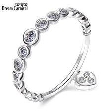 Женское серебряное кольцо миди dreamcarnival 1989 подарочное