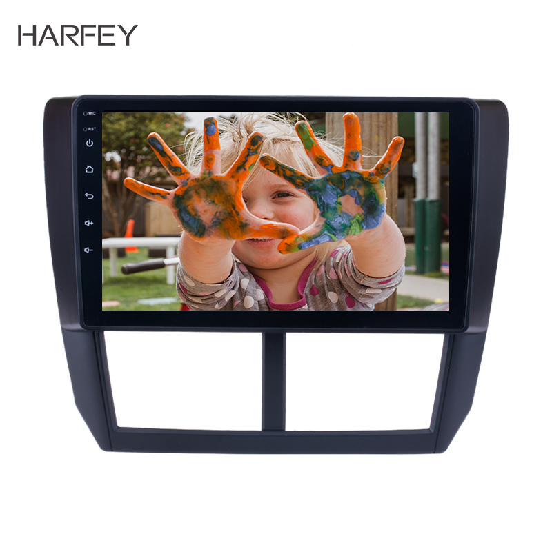 Car Electronics Automobiles & Motorcycles 2019 New Style Harfey 92din Android 8.1/7.1 Car Radio For Subaru Forester 2008-2012 Head Unit Gps Navigation Multimedia Player Wifi Bluetooth Vivid And Great In Style