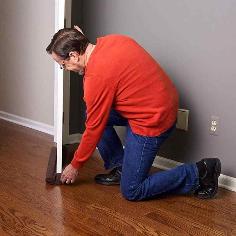 Hogar hogar Tope de puerta ventana viento bloqueador de polvo sellador Interior algodón puertas exteriores ventanas aislante Protector se detiene nuevo