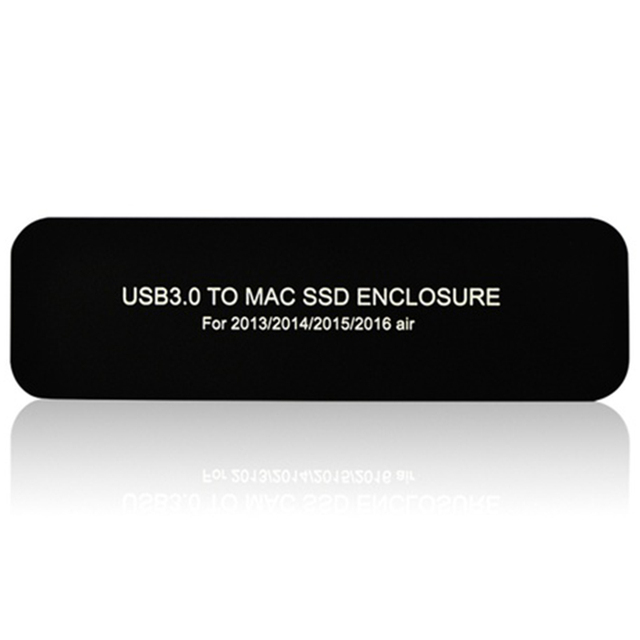 Boîtier pour disque dur Apple Macbook Air Pro Retina, usb 3.0 pour modèles 2013, 2014, 2015 /2016