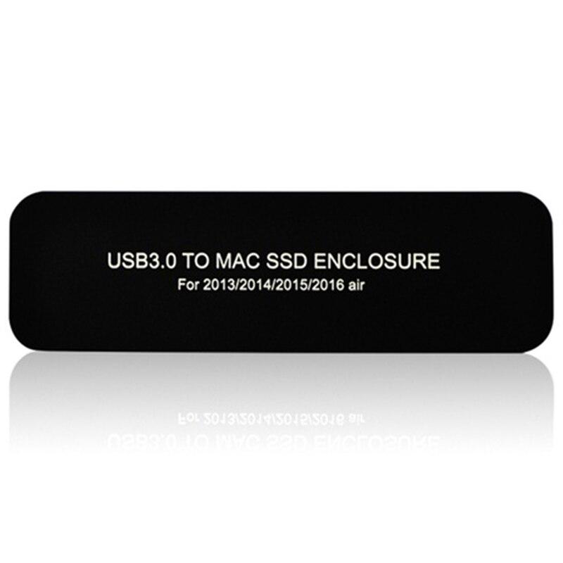 Pour Apple Macbook Air Pro Retina 2013 2014 2015/2016 boîte de disque dur Usb3.0