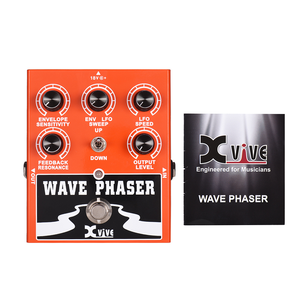 XVIVE W1 Wave Phaser Guitar Effect Pedal True Bypass Full Metal Shell-in Guitar Parts & Accessories from Sports & Entertainment    2