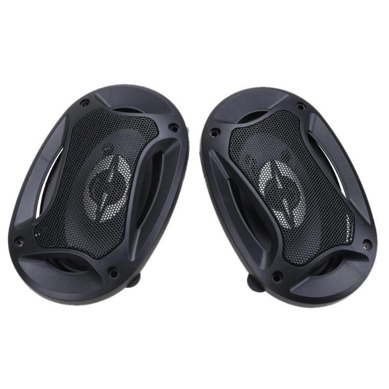 VODOOL 2 piezas 4X6 pulgadas 2 Coaxial coche Universal altavoces de Audio reposición altavoz puerta del vehículo SubWoofer Auto altavoz de cuerno