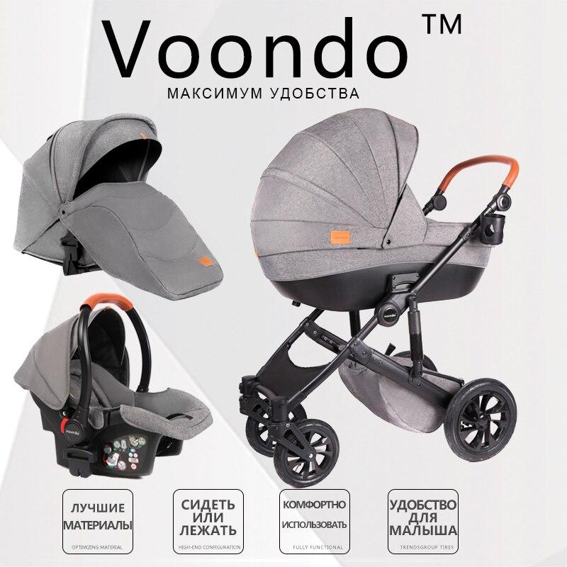 Новая детская коляска 3 в 1 с высоким ландшафтом, бесплатная доставка