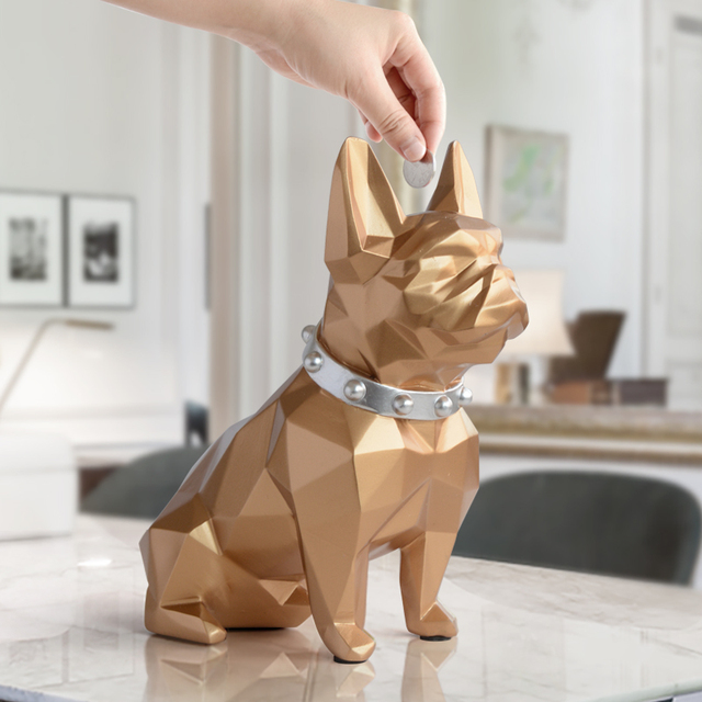 Cute coin bank Dog