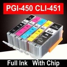 PGI-450 PGI450 CLI 451 совместимый картридж с чернилами для canon PIXMA MG5440 MG5540 MG5640 MG6440 Ip7240 MX924 IX6540 IX6840 принтера