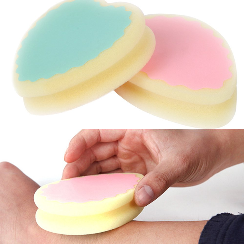 Scrubs & Bodys Treatments 1pc Soft Magic Painless Bath Shower Body Scrub Sponge Pad Women Ladies Facial Leg Arm Body Hair Removal Tool Bath & Shower