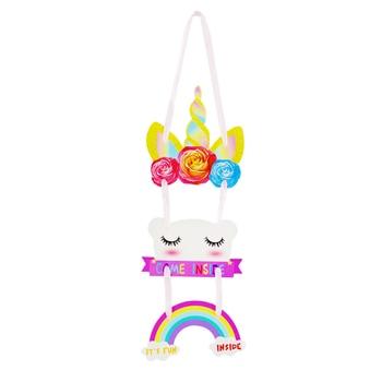Unicorn party hanging decorations