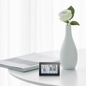 Image 3 - Draadloze Weerstation Touch Screen Thermometer Hygrometer Indoor Outdoor Wifi Weerbericht Sensor Klok 20C 60C