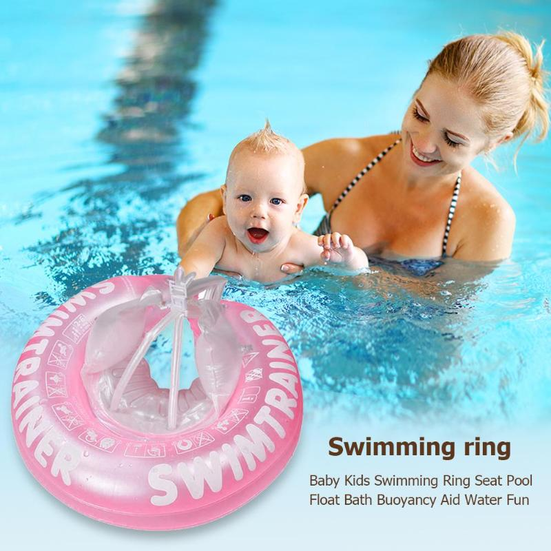 Kid Chair Seat 2019 Swimming Ring Safe Soft Inflatable Baby Swim Float Ring Baby Playing Beach Swimming Pool Yatch