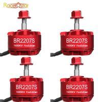 1PCS/2PCS/4PCS Racerstar 2207 BR2207S Edition 1600KV 2200KV 2500KV 3 6S Brushless Motor For RC Drone Frame Spare Part Accs