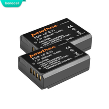 Bonacell 2200mAh LP-E10 LP E10 LPE10 Digital Camera Battery For Canon 1100D 1200D 1300D Rebel T3 T5 KISS X50 X70 Battery L10