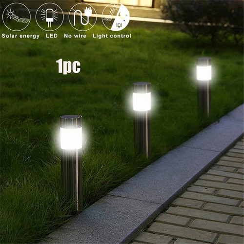 1PC 5V 2W 100lm Waterproof Solar Light Plug-in Ground Type Garden Decorative Solar Power Outdoor Yard Path Lawn Lamp