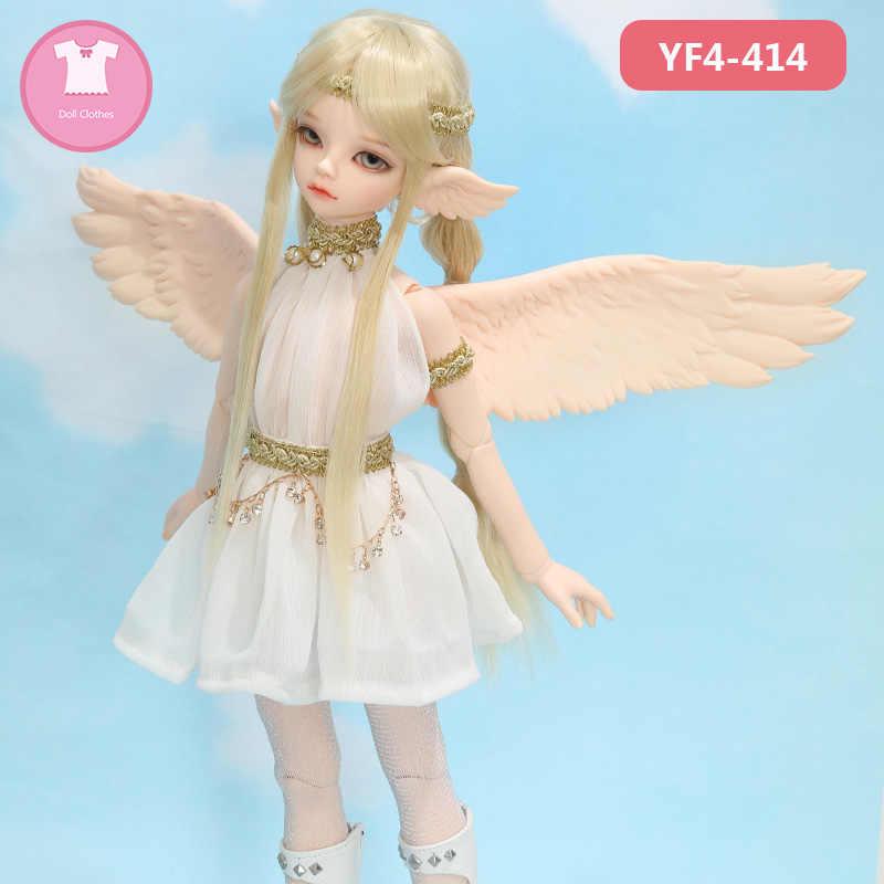 BJD одежда 1/4 Teenie Gem тело для Msd Yosd серый и AceTuff Sueve Elves YF4 До 347 кукла красивое платье кукла аксессуары