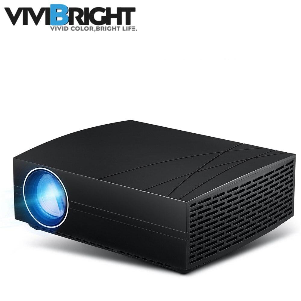 Vivibright F20 Projecteur led Vidéo Home Cinéma HD Projecteur 1920x1080 P projecteur de cinéma maison