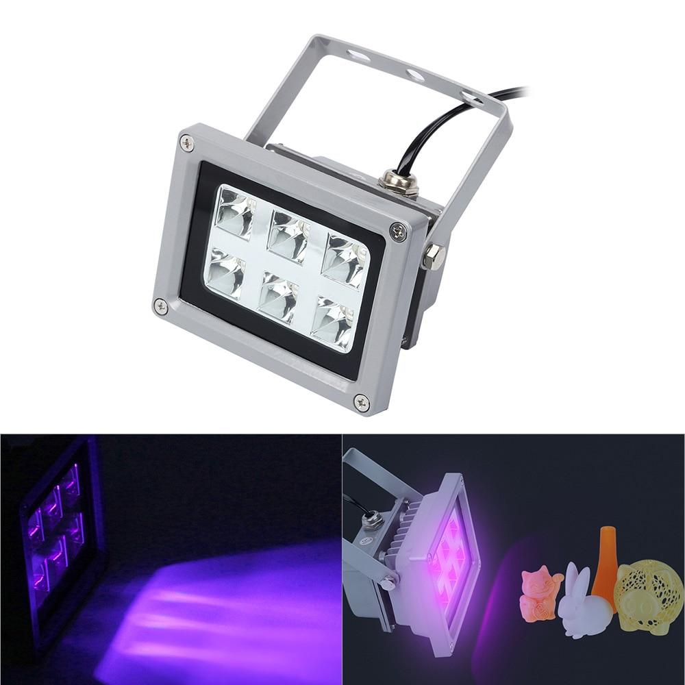 UV Resin Curing Light LED 405nm Solidify Photosensitive Fr SLA DLP 3D Printer GR