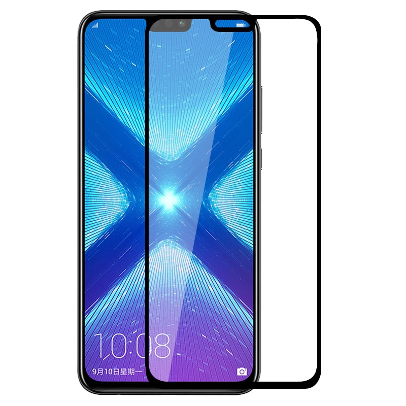 Screen Protector Tempered Glass For Huawei Y6 Y9 P Smart 2019 Mate 20 10 P20 P30 Lite Nova3/3I Honor V20 8C 8X 7A 7C Full Cover