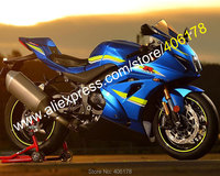 Hot Sales,For Suzuki GSX R1000 2017 2018 2019 GSXR1000 GSXR 1000 K17 17 18 19 Blue Black ABS Fairing Kit (Injection molding)