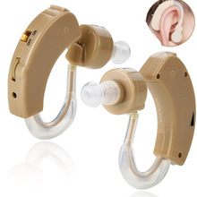 BTE Behind The Ear Sound Amplifier Super Mini Size Sound Enhancer For Better Hearing Aid Ear Care цены