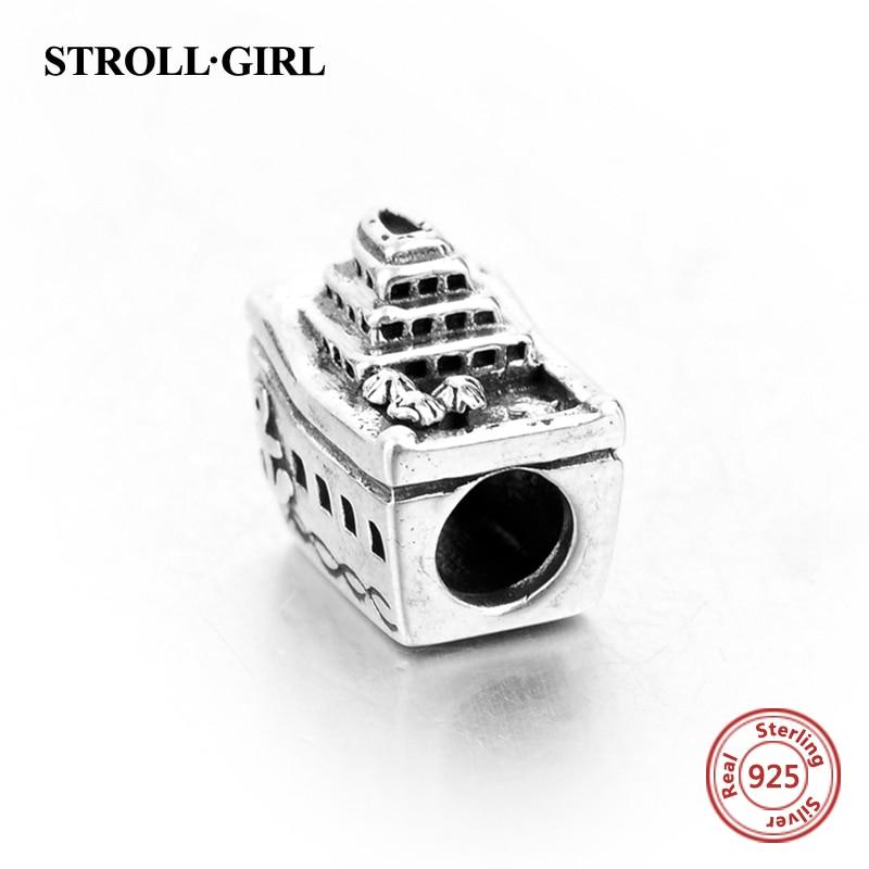 Passar till europeiska Charms Armband 925 Sterling Silver personliga - Märkessmycken - Foto 2