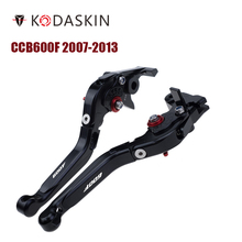 KODASKIN Folding Extendable Brake Clutch Levers for Honda CB600F 2007-2013