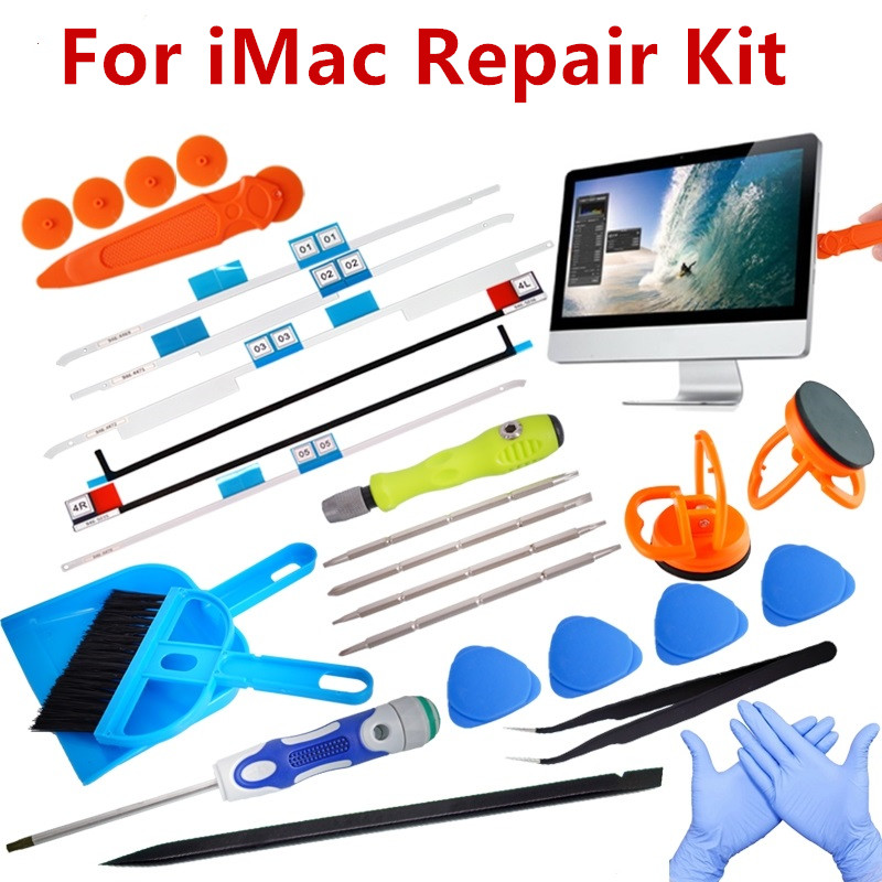 For IMac Repair Kit Replacement LCD Display Adhesive Tape Repair Kit Strips For Apple IMac A1419 A1418 A1224 A1311 A1312