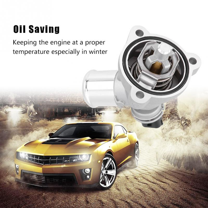 Car Thermostat Replacement >> Us 15 15 24 Off 96988257 Car Engine Cooling Thermostat For Gm Chevrolet Spark 2013 2014 2015 Abs Auto Replacement Accessories Car Thermostat In