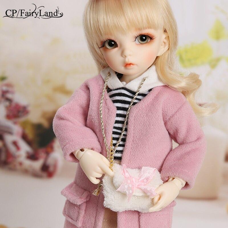 BJD poupées Littlefee Ante 1/6 Yosd Rose Rose doré cheveux bouclés Lolita Fullset Option fille jouets pour filles meilleur cadeau Fairyland FL - 2