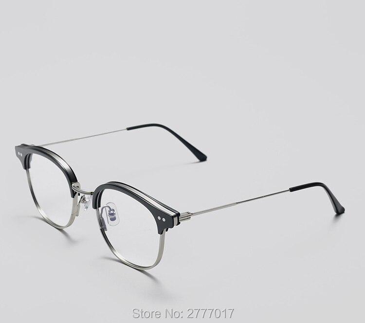 f192c8807f AL-MG espectáculo marco lentes hombre computadora óptica gafas para hombre  transparente lente de Armação