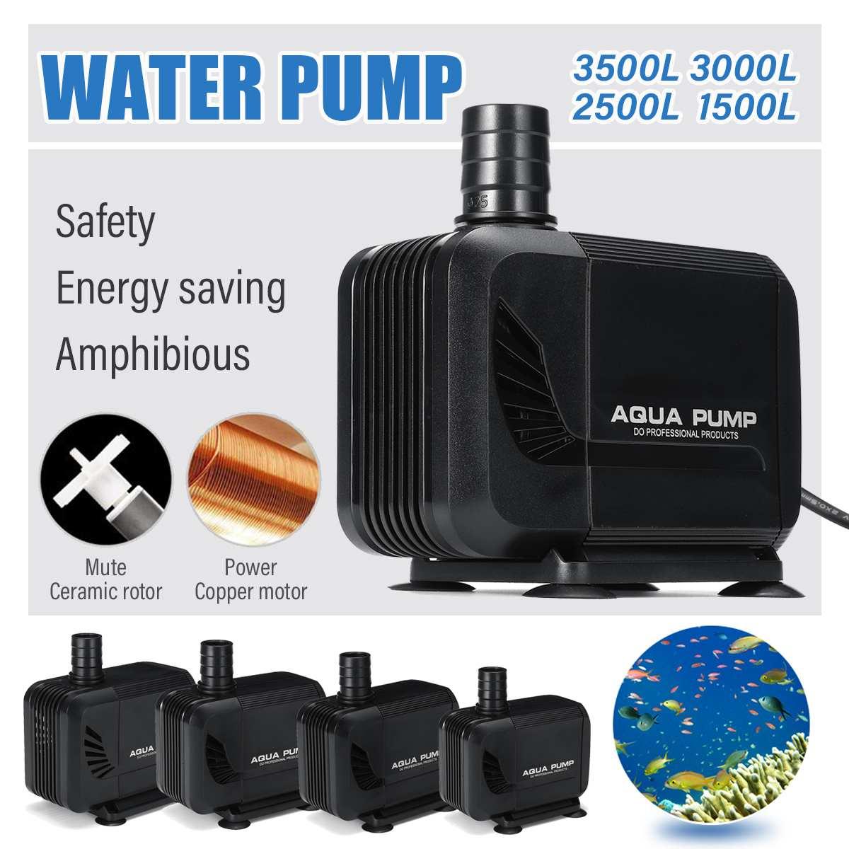 3 en 1 Aquarium Portable Filtre Interne Multi-Fonctionnel Pompe /À Eau Pour R/éservoir De Poissons 220-240V Filtre Submersible UE Plug
