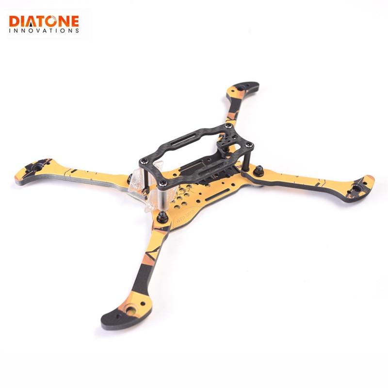 Diatone 2019 GT R MK3 5 pouces 200mm empattement 6mm bras Kit de cadre en Fiber de carbone pour Drone RC FPV Racing