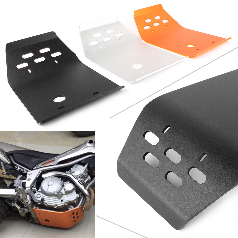 Motorcycle Stainless Steel Engine Guard Cover Skid Plate For Yamaha Serow XT250 Tricker XG250 Motorbike Accessories