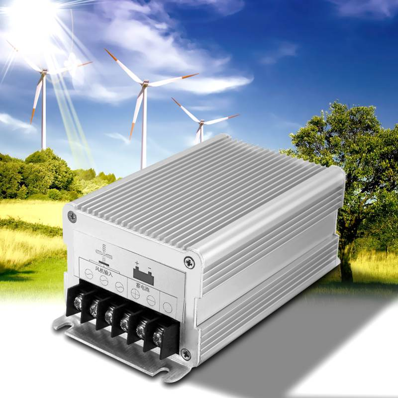 24 Volt 600W 12V 300W Wind Turbines Generator Charge Controller Aluminium Alloy Regulator Outdoor Wind Generator Controller