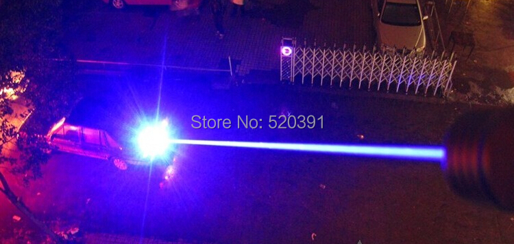Most Powerful Military Blue Laser Pointer 5000000m 5000Watt 450nm Flashlight Lazer Burning Match black burn Cigarettes Hunting in Lasers from Sports Entertainment