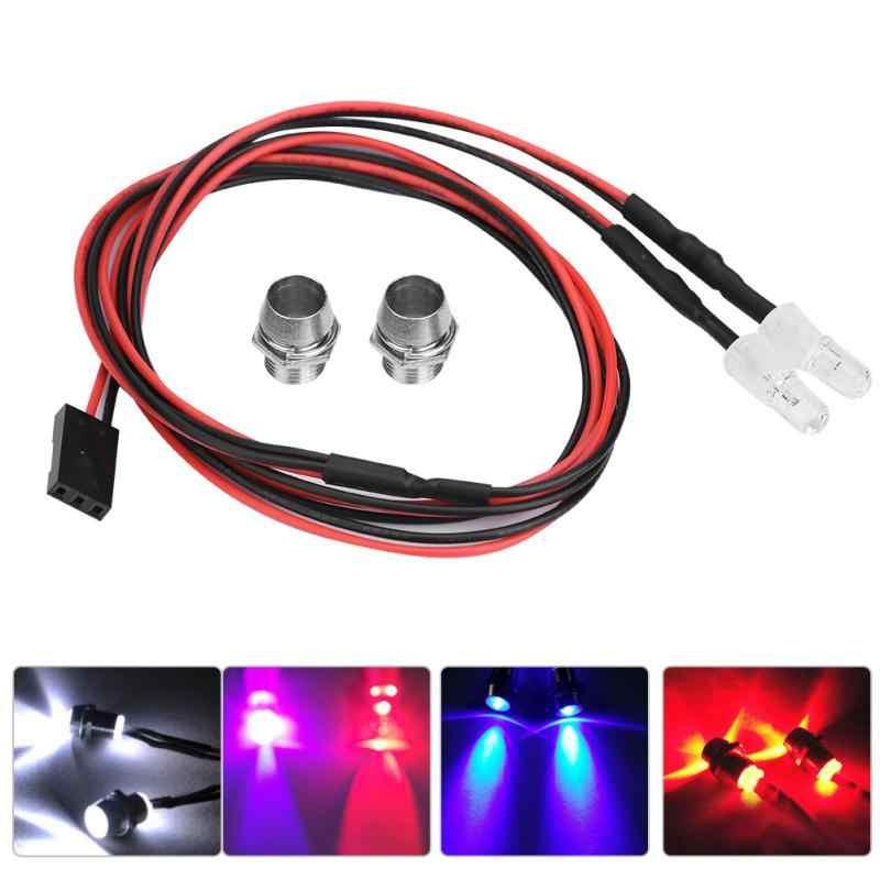 RC LED Nachtscheinwerfer Scheinwerfer 5mm Blau Rot LED Licht für Modell