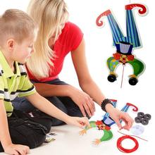 Novelty DIY Toys Clown Walking Wire DIY Gravity Principle Educational Toy for Children Learning Developing Toys