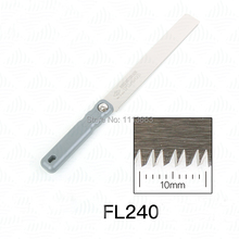 FL-240 Flushing Cutting Japanese Saw, Z-saw Made in Japan 150mm 6 feather edge saw file made in japan