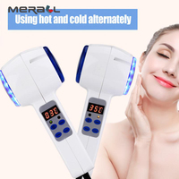 Hammer Cryotherapy Blue Photon Acne Treatment Skin Beauty Massager Lifting Rejuvenation Facial Machine Face Care Device Hot Col