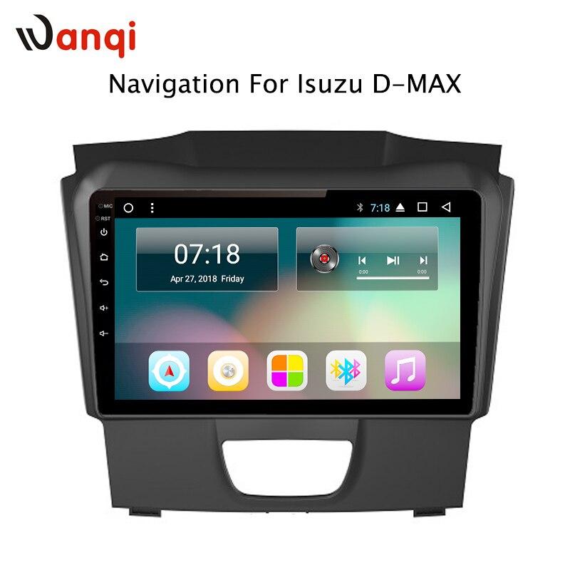 10 pouce usine android 8.1 lecteur dvd de voiture pour Isuzu D-MAX DMAX 2017 avec audio radio multimédia gps système de navigation
