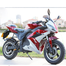 Outdoor road racing cool electric motorcycle sports car adult