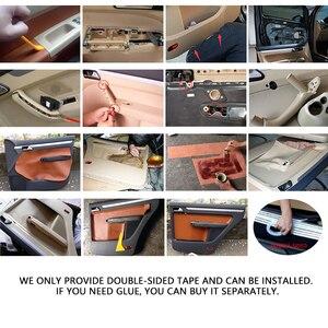 Image 5 - Per VW Touran 2006 2007 2008 2009 2010 2011 2012   2015 4pcs del Portello di Automobile Pannello/Porta Bracciolo in Pelle microfibra Copertura