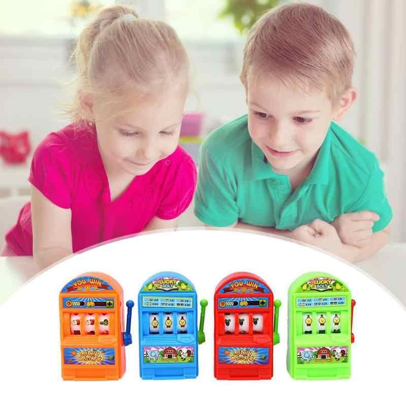 Simulazione Palmare Mini Fortunato Jackpot Slot Machine Giocattolo Della Novità Divertente per I Bambini Bambini Regali Di Compleanno Scherzi Divertenti Mini 2019 Nuovo