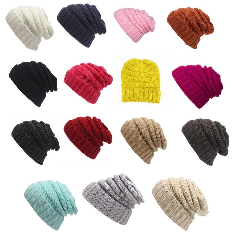 Winter Wool Beret Hat Unisex Beret Beanie Warm Wool Cap Hat For Women Men Kids