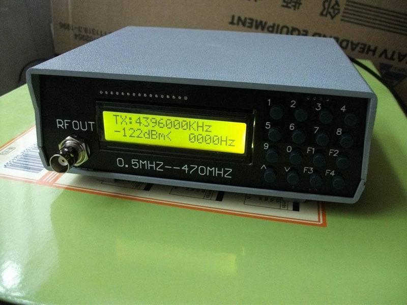 Source de Signal d'appareil de contrôle de mètre de générateur de signal de 0.5 Mhz-470 Mhz RF pour la Radio FM
