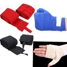 2 шт. 2,4 м бинты для рук для бокса повязки ММА поезд перчатки wrist Protect кулак штамповки