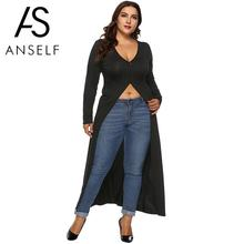 1986d4309505c Buy long front slit shirt and get free shipping on AliExpress.com