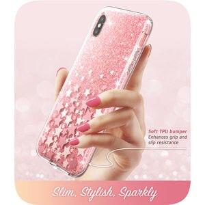 Image 5 - Cho iPhone Xs Max 6.5 Inch Tôi Blason Cosmo Series Toàn Cơ Long Lanh Đá Cẩm Thạch Ốp Lưng Ốp Lưng xây Dựng Trong Tấm Bảo Vệ Màn Hình