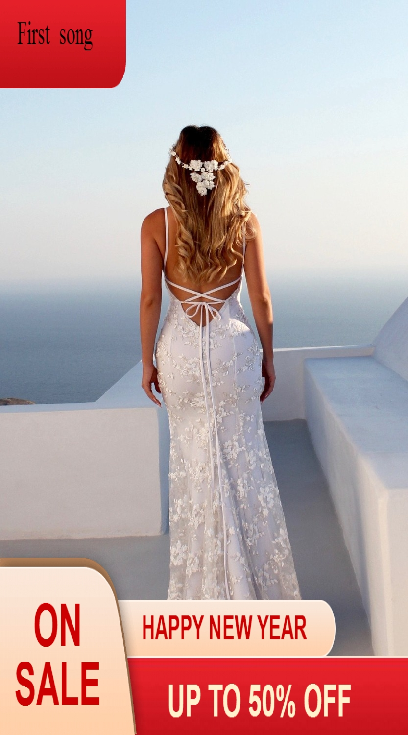 2019 Womens Summer Bohemian Lace Sexy Maxi Dress Party Beach Floral Halter